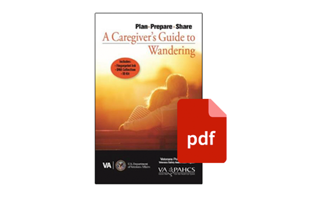 Caregiver's Guide to Wandering PDF